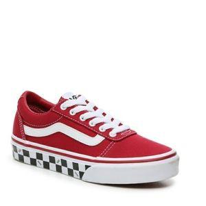 Little Kids Red Vard Van sneakers size 13